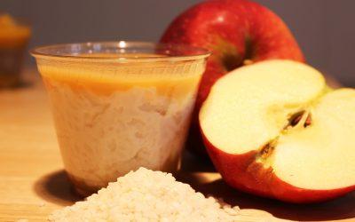 Milchreis mit Apfelmark