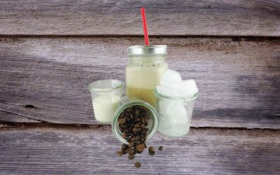Frappé – Eiskaffee (vegan möglich)